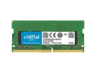 Bild von CRUCIAL 4GB Kit 2GBx2 2400MHz DDR4 PC4-19200 CL17 SR x16 Unbuffered SODIMM 260pin
