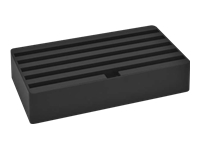 Bild von ALLDOCK Ladestation Large 6x USB Hub pro Port 2400mA Gesamtleistung 14400mA schwarz