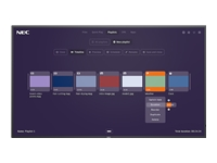 Bild von NEC MultiSync M651 MPi4 165,1cm 65Zoll M-Series Large Format Display UHD 500cd/m2 E-LED backlight 24/7 proof SDM Slot MPi4