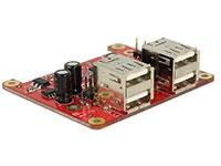 Bild von DELOCK Raspberry Pi USB 2.0 > 4 x USB 2.