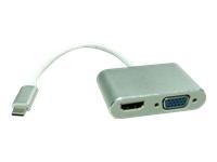 Bild von ROLINE USB3.1 C - HDMI und VGA Konverter