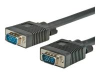 Bild von ROLINE HQ VGA Kabel HD15 ST ST 15m