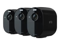 Bild von ARLO Essential Spotlight Camera 3-Pack Black