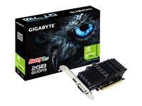 GIGABYTE GeForce GT 710 2GB GDDR5 LP - Kovera Distribution