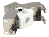 Bild von DELOCK Keystone RJ45 Buchse > LSA werkzeugfrei Cat.6