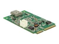 Bild von DELOCK Mini PCIe I/O PCIe full size 1 x USB Type-C 3.1 Gen 2 Buchse
