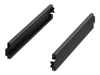 Bild von RITTAL VX Sockel-Blende seitlich H 100mm für T 1000mm Stahlblech 2pcs