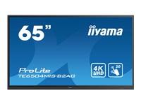 Bild von IIYAMA TE6504MIS-B2AG 165,10cm 65Zoll UHD IPS 20 Points Touch Landscape mode AG 3500:1 350cd/m2 VGA HDMI DP USB-C Audio Out LAN