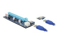 Bild von DELOCK Riser Karte PCI Express x1 x16 mit 60 cm USB Kabel