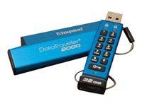 Bild von KINGSTON 16GB Keypad USB3.0 DT2000 256bit AES Hardware Encrypted