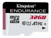 Bild von KINGSTON 32GB microSDXC Endurance 95R/45W C10 A1 UHS-I Card Only