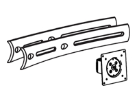 Bild von ERGOTRON DS100-Querschienenverlaengerung Erweiterung von 71,1cm auf 116,8cm