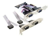 Bild von DELOCK PCI Express Karte 4 x Seriell