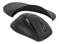Bild von DELOCK Ergonomische optische 5-Tasten Maus 2,4 GHz kabellos mit Handballenauflage - Linkshänder