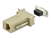 Bild von ASSMANN Adapter DB9 RJ45 Modular DB9 M RJ45 F