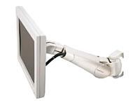 Bild von ERGOTRON LCD Schwenkarm Serie 400 grau bis 68,6cm 27Zoll max 10,4kg.VESA 75x75 100x100 neigen schwenken drehen Wandhalterung