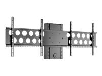 Bild von HAGOR Info-Tower PLW 165 Zubehoerartikel fuer Info-Tower Serie fuer 2 x Displays von 102-140 cm VESA max 600x400