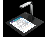 Bild von IRIS IRIScan Desk 5 Win. A4 300 dpi Farbe SW Graustufen. 8,0 Megapixel CMOS-Sensor 3264x2448 Pixel. 5 V via USB. inkl. OCR SW
