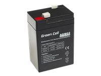 GREEN CELL Battery AGM 6V4.5AH - Kovera Distribution