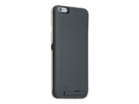 Bild von REALPOWER BP-4000 iPhone 6 Plus Schutzhuelle mit integrierter Powerbank 4.000 mAh schwarz