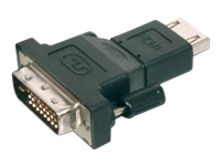 Bild von ASSMANN DVI Adapter DVI(18+1) - HDMI Typ A St/Bu DVI-D Single Link,HDMI 1.3 kompatibel sw