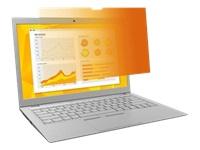 Bild von 3M Blickschutzfilter Gold GF141W9B für 35,81cm 14,1Zoll Laptops 16:10  mit COMPLY Befestigungssystem