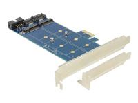 Bild von DELOCK PCIe 2 x M.2 NGFF SATA + USB