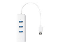 TP-LINK UE330 USB 3.0 -HUBI,  GIGABITIN ETHERNET-SOVITIN - Verkkoadapterit - 6935364094553 - 1