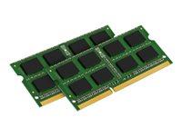 Bild von KINGSTON 8GB 1333MHz DDR3 Non-ECC CL9 SODIMM SR x8 (Kit of 2)