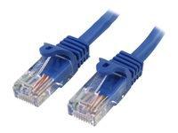 Bild von STARTECH.COM 10m Cat5e Ethernet Netzwerkkabel Snagless mit RJ45 - Cat 5e UTP Kabel - Blau