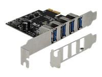Bild von DELOCK USB 3.0 PCI Express Karte mit 4 x externen Typ-A Buchsen