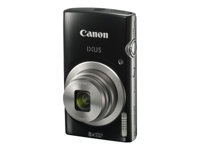 Bild von CANON Digitalkamera IXUS 185 Schwarz 20Megapixel 28mm Weitwinkelobjektiv 8fach optischen Zoom 16fach ZoomPlus DIGIC 4+