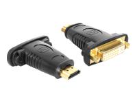Bild von DELOCK Adapter HDMI Stecker > DVI 24+5 Pin Buchse