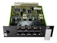 AGFEO Modul D-748 4 Digitalports jeweils schaltbar S0 intern/S0 extern/2 x Up0 bis zu 4S0/bis zu 8 UP0/bis zu 8 digit.Systemtelefone