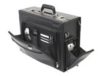 Bild von DICOTA AeroCase new Pilotenkoffer schwarz Toploader fuer Notebooks bis 15,4 Zoll 39,12cm