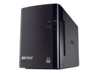 Bild von BUFFALO DriveStation Duo 12TB USB 3.0 2x 6TB HDD 8,9cm 3,5Zoll Festplatte RAID 0/1