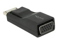 Bild von DELOCK Adapter DisplayPort 1.2 Stecker > VGA Buchse schwarz Premium