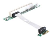 Bild von DELOCK PCIe-Riser-Karte x1 > PCI 32-Bit mit Kabel 9cm