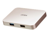 Bild von ATEN UH3235 USB-C 4K Ultra Mini Dock mit Power Passthrough