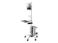 Bild von ROLINE PC-/LCD-Rollständer silber