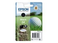 EPSON SINGLEPACK BLACK 34 - Musteet, paperit ja väripatruunat - 8715946632032 - 1