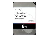 Bild von WESTERN DIGITAL Ultrastar DC HC510 8TB HDD SAS 256MB 7200Rpm Ultra 4KN ISE DC HC510 HUH721008AL4200 8,89cm 3,5Zoll Bulk