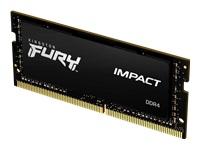 Bild von KINGSTON 16GB 2666MHz DDR4 CL15 SODIMM 1Gx8 FURY Impact