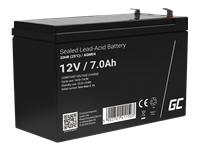 GREEN CELL Battery AGM 12V7AH - Kovera Distribution