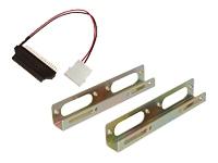 Bild von DIGITUS Einbaukit fuer 6,4cm 2,5Zoll HDD in 8,9cm 3,5Zoll Laufwerkschacht inkl. Schrauben Klammer 40Pin Adapter und Stromanschluss