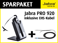 Bild von Bundle JABRA PRO 920 + 14201-16 EHS-Adapter Cisco IP Phones