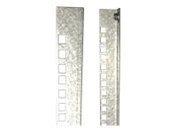 Bild von EFB 19Zoll Profilschienen Set fuer 15HE OFFICE Schrankserie Material Stahl verzinkt