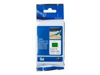 Bild von BROTHER FLe-7511 FLe-Einzelfähnchen-Etiketten grün/schwarz 72 St/Kassette für Brother P-touch D800W, P900W, P950NW