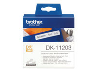 Bild von BROTHER P-Touch DK-11203 die-cut map label 17x87mm 300 labels