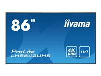 Bild von IIYAMA Prolite LH8642UHS-B1 217cm 86Zoll 4K UHD large format display with Intel SDM slot